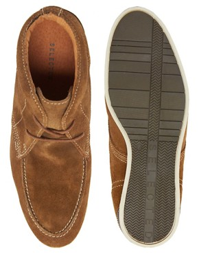 Image 3 ofSelected Homme Green Park Suede Chukka Boots