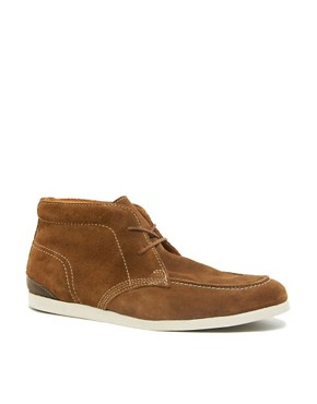 Image 1 ofSelected Homme Green Park Suede Chukka Boots