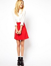 ASOS A-Line Skirt in Texture