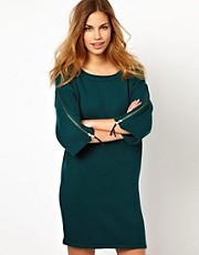 Gestuz Knitted Dress with Wide Sleeves