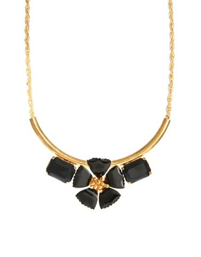 Image 1 ofSusan Caplan Exclusive For ASOS Vintage 80s Floral Necklace