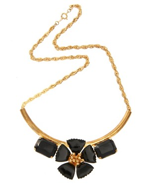 Image 2 ofSusan Caplan Exclusive For ASOS Vintage 80s Floral Necklace