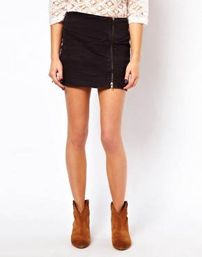 Image 4 ofOnly Power Mini Pencil Skirt