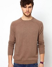 ASOS Raglan Crew Neck Jumper