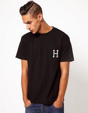 Image 1 ofHuf T-Shirt Classic H Pocket