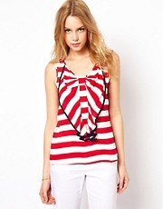 Traffic People Stripe Cami Top