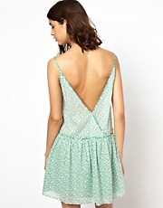 BA&SH Low Back Sundress in Printed Cotton