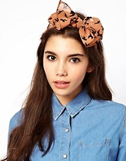 ASOS Bird Print Head Scarf