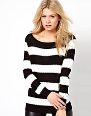 Oasis Stitch Stripe Jumper