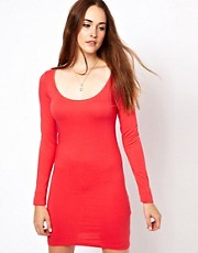 Vila Body-Conscious Dress With Long Sleeve
