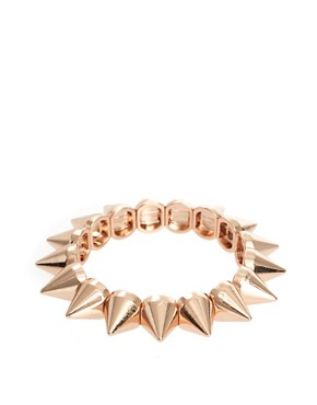 Image 1 of ASOS Spike Stretch Bracelet