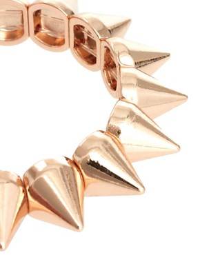 Image 3 of ASOS Spike Stretch Bracelet