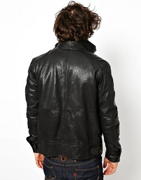 Image 2 ofSuperdry Leather Jacket