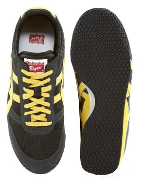 Image 3 ofOnitsuka Tiger Ultimate 81 Nylon Trainers