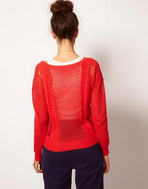Image 2 ofFiretrap Macey Knitted Top