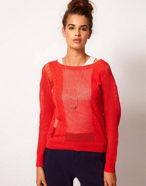 Image 1 ofFiretrap Macey Knitted Top