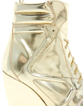 Image 3 ofASOS ARK Wedge Ankle Boots