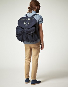 Image 3 ofDenim &amp; Supply By Ralph Lauren Canvas Backpack