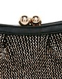 Image 4 ofOasis Metallic Bobble Foil Clutch