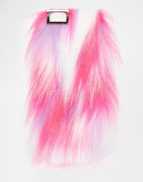 Skinny Dip Multi Colour Furry iPhone 6 Case
