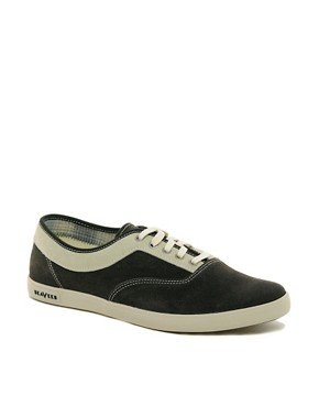 Image 1 ofSeaVees Volunteer Suede Plimsolls
