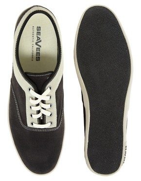Image 3 ofSeaVees Volunteer Suede Plimsolls