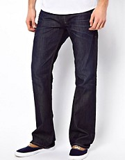 Diesel - Zatiny 0806W - Jeans bootcut con lavaggio scuro