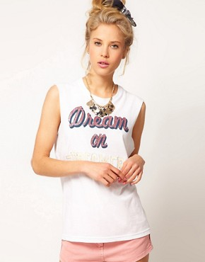 Bild 1 von ASOS  T-Shirt mit Dream on Dreamer-Aufdruck