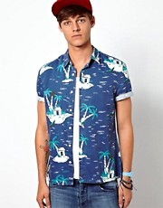 ASOS Shirt With Island Print