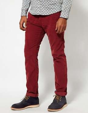 Image 1 of Hilfiger Denim Slim Cord Trousers