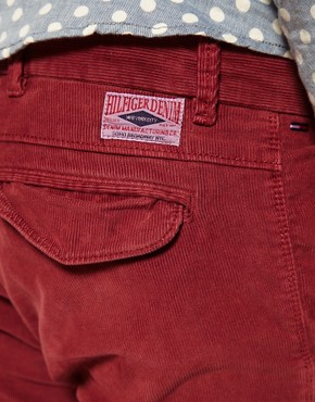 Image 3 of Hilfiger Denim Slim Cord Trousers