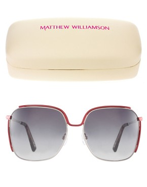 Image 2 ofMatthew Williamson Aviator Sunglasses