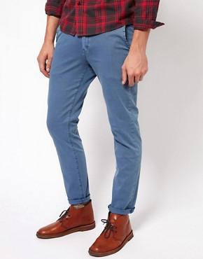 Image 1 ofNeuw Chinos Slim Stretch Washed Out