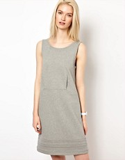 Chalayan Grey Line Open Back Sweat Dress