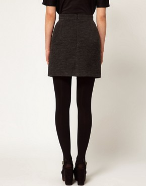 Image 2 ofLulu and Co Wool Mini Skirt
