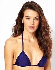 American Apparel Tricot Triangle Bikini Top