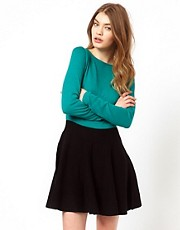 Oasis Fit And Flare Knit Dress