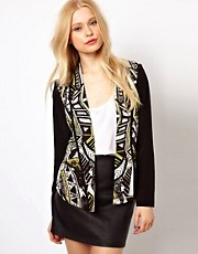 River Island Print Blazer
