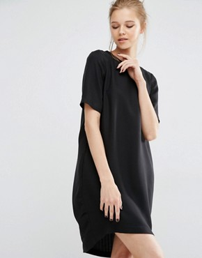 Y.A.S Sanna Short Sleeve Open Back Dress