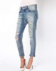 Vaqueros estilo boyfriend de corte slim de Joe&#39;s Jeans