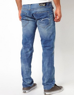 Image 2 ofG Star Jeans Morris Low Straight Light Aged