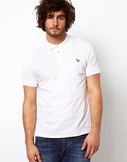 Paul Smith Jeans Polo with Zebra