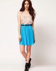 Vila Belted Skirt