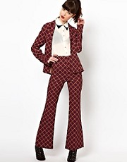 Sister Jane Trousers in Geometric Print