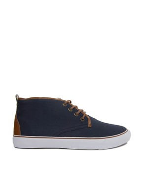Image 4 ofASOS Chukka Boots in Canvas