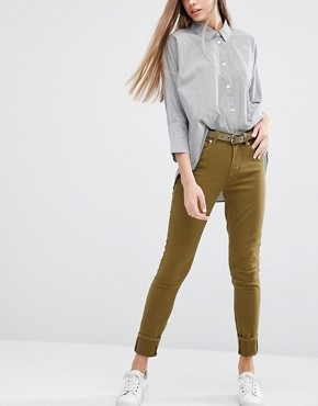 PS by Paul Smith Khaki Skinny Jeans