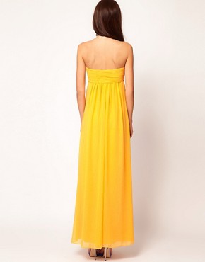 Image 2 ofTed Baker Beaded Strapless Maxi Dress