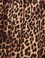 Image 3 ofGlamorous Leopard Skater Skirt