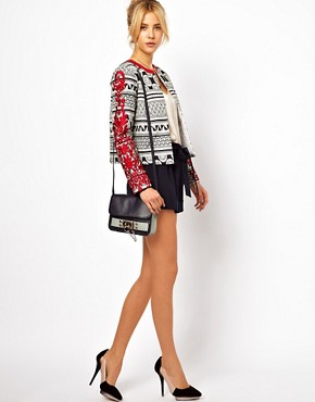 Image 4 ofASOS Statement Jacket with Embroidered Sleeves