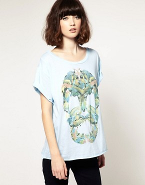Image 1 ofOne Teaspoon Parrot Skull Regular T-Shirt